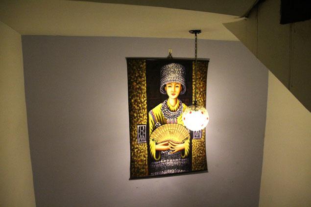 decoración en el hostel