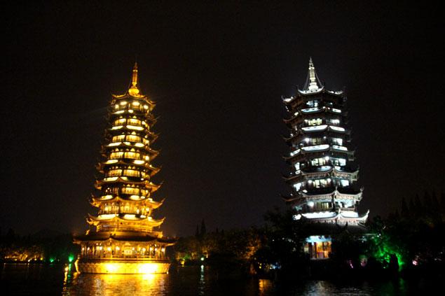 Pagoda sol y luna