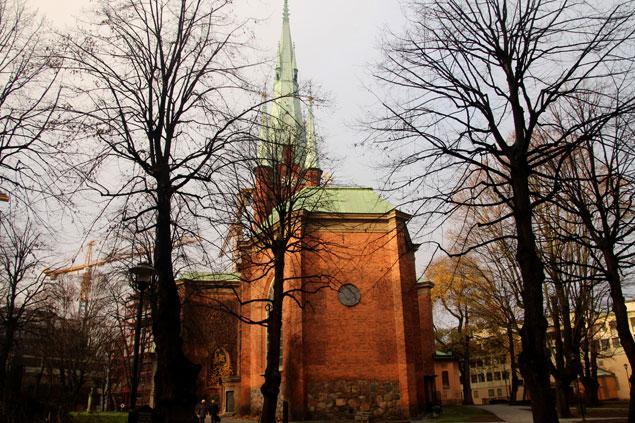 Preciosas iglesias abundan en la  ciudad
