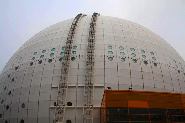 The Globen, el mejor mirador de Estocolmo