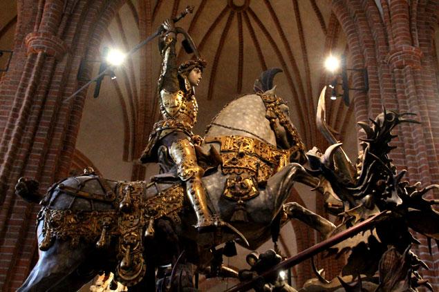 San Jorge matando al dragón