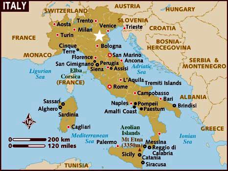 Mapa De Verona Italia.Verona Italia Informacion Y Mapa