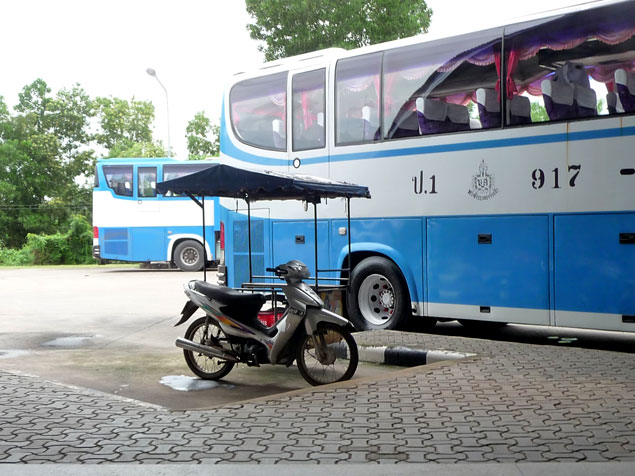 Como ir de Bangkok a Ayutthaya en bus