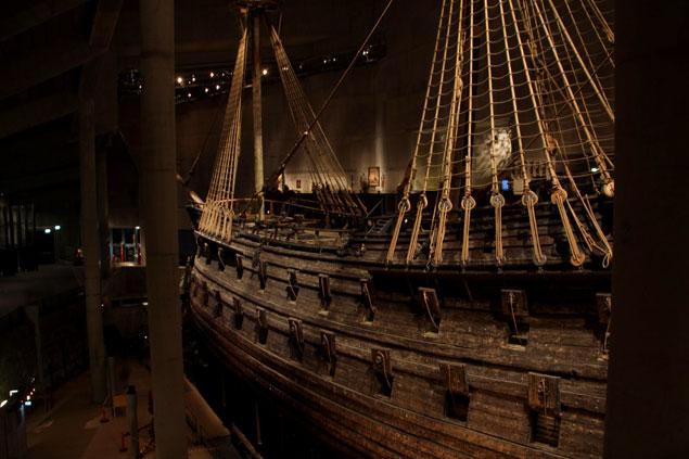 Parte de la flota del rey Gustavo II Adolfo