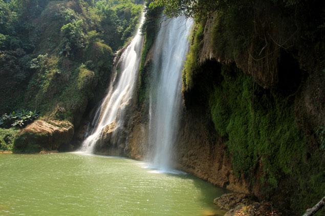 como ir de Mae Sot a Umphang y ver la Cascada Thi lo su