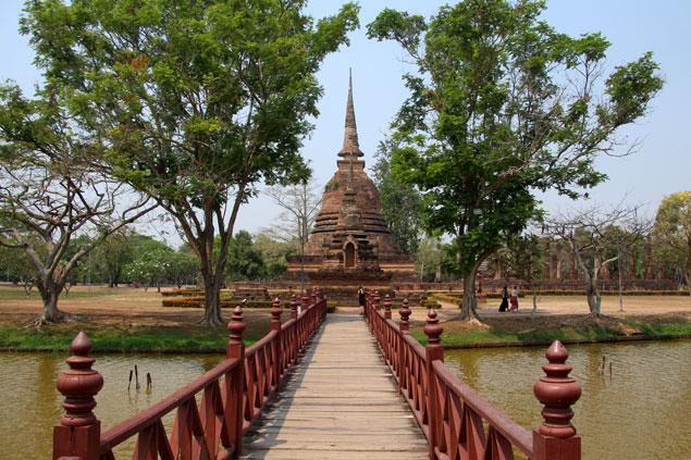 Bienvenidos a Sukhothai
