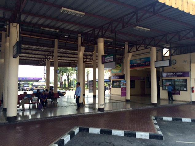 estación de autobuses de la ciudad nueva