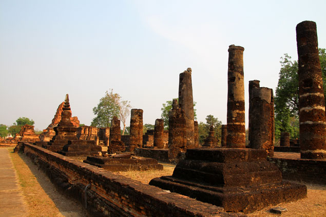 Parque histórico de Sukhothai (Wat Pha Phai Luang)