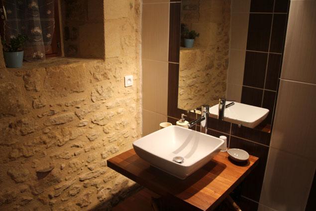 Detalle de los lavabos