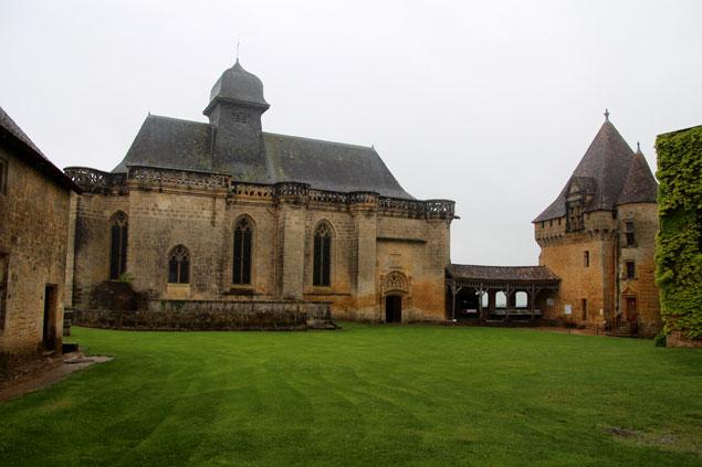 Chateau de Biron, símbolo del Perigord