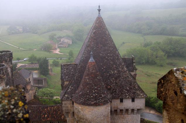 Vistas desde la parte mas alta de la fortaleza