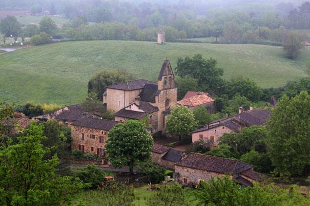 Vistas desde el Chateau de Biron