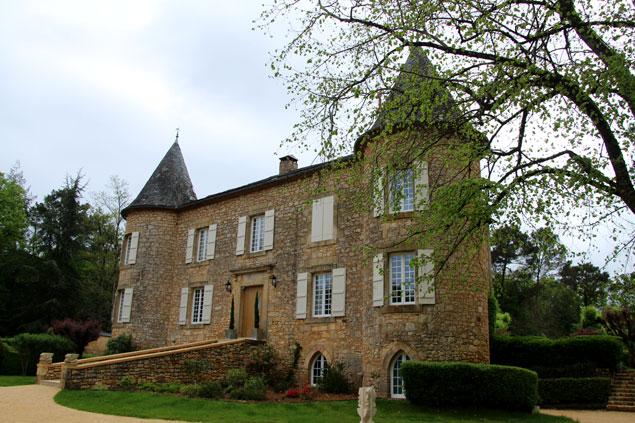 El impresionante Chateau de Maraval