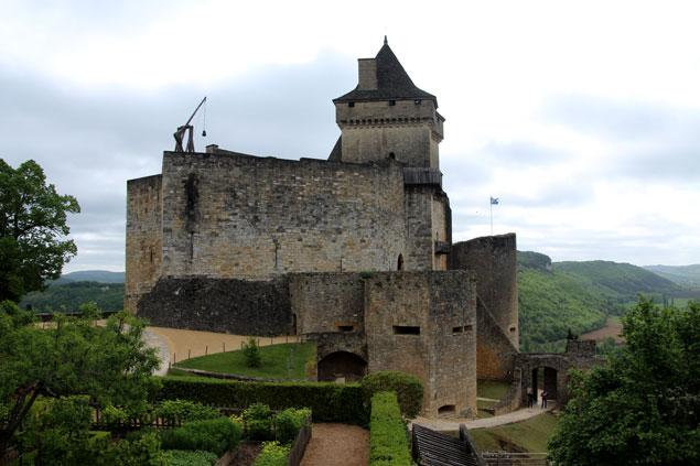 Ruta por el Perigord-Dordoña (Castillo de Castelnaud la Chapelle)