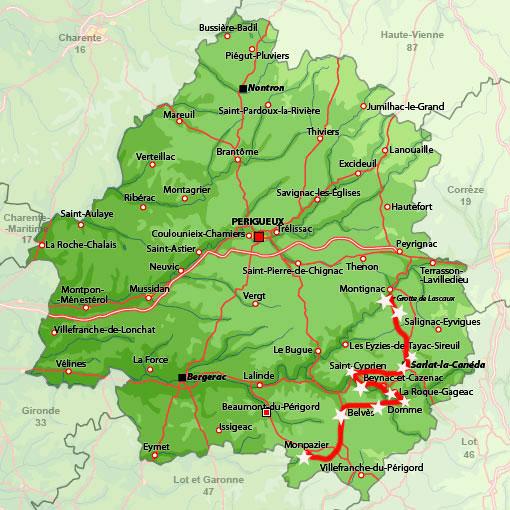 Nuestra ruta por el Perigord-Dordoña