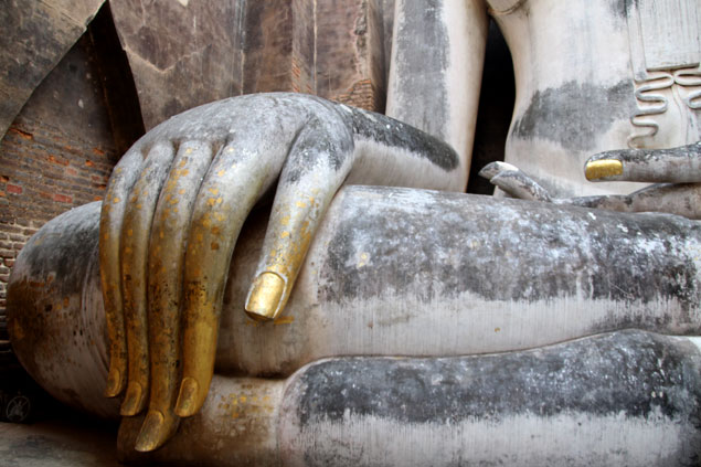 Mano del Buda de Wat Si Chum