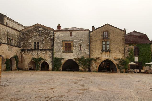 Edificios de la Plaza de las arcadas