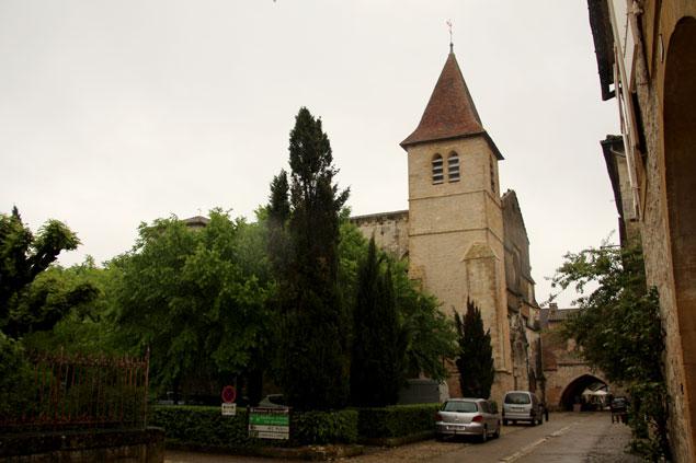Iglesia de Saint Dominique en Monpazier