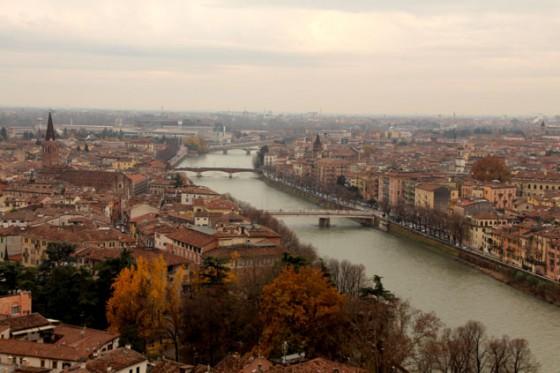 Verona a ambos lados del Adige