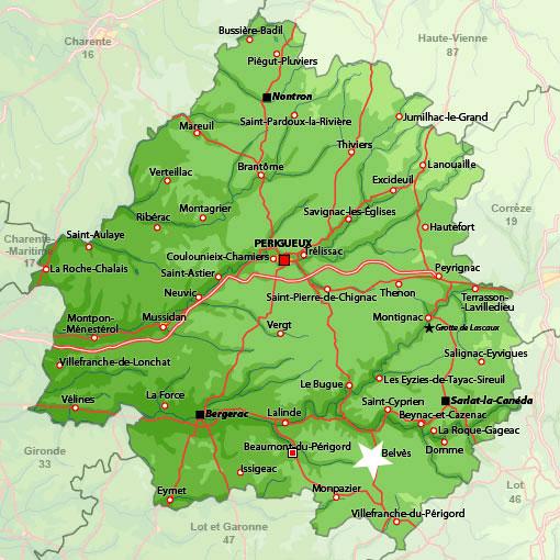 Localización Belvès
