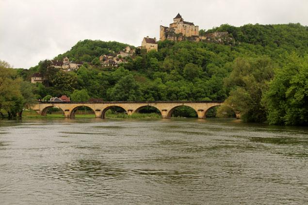 Puente de 7 arcos desde La Roque-Gageac