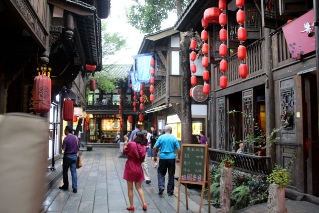 Jinli Street, gastronomía en la historia