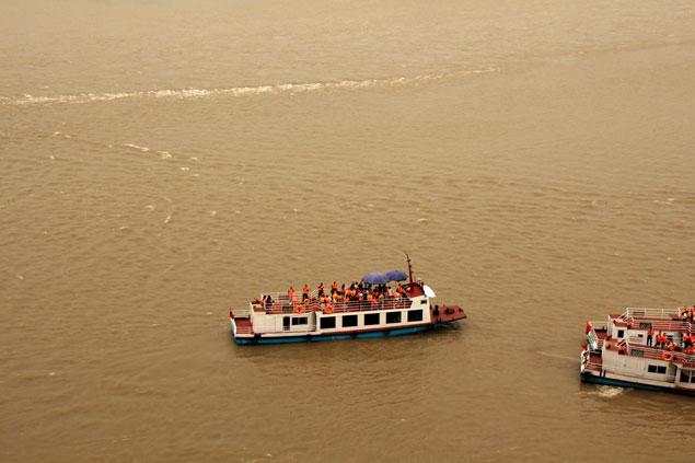 Visita desde el río