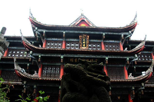 El Wenshu Monastery , orgullo de Sichuan
