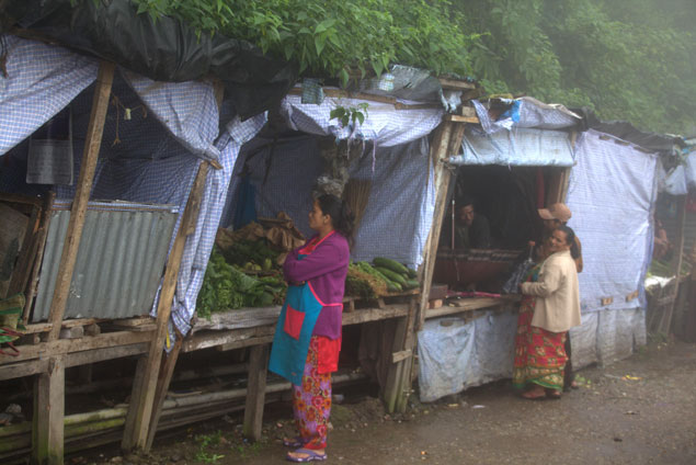 Paradas del mercado que ver en Darjeeling