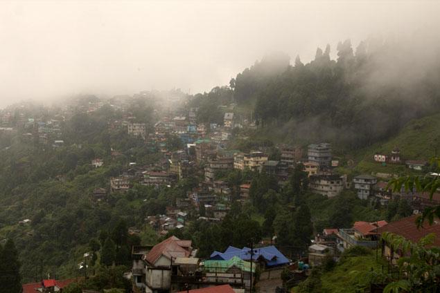 Si el día acompaña podemos ver el Himalaya