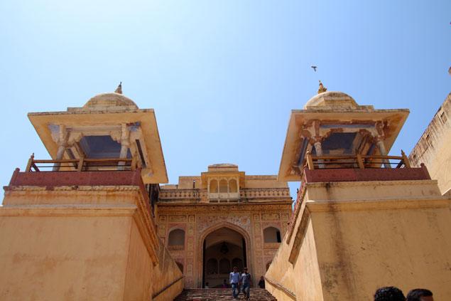 Fuerte de Amber, maravilla de la India