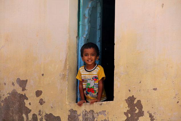 Los niños son el futuro y todos deberían mostrar esta sonrisa