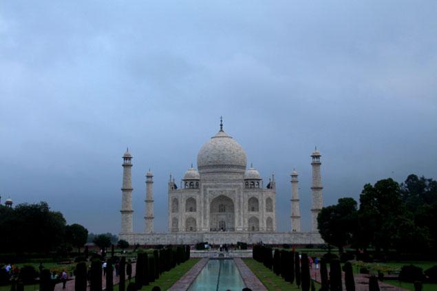 El legendario Taj Mahal