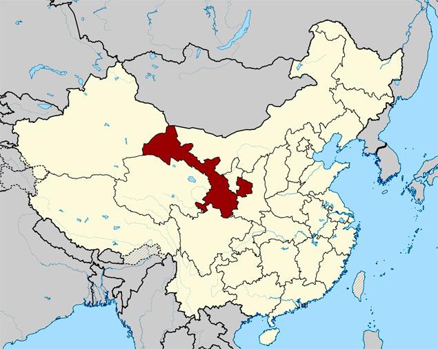 Provincias de Sichuan y Gansu