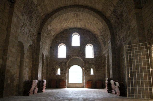 Una construcción de la Alta Edad Media