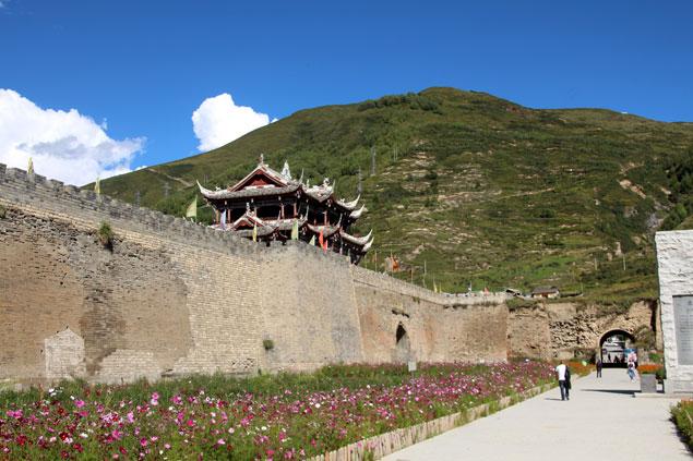 Puerta este de Songpan