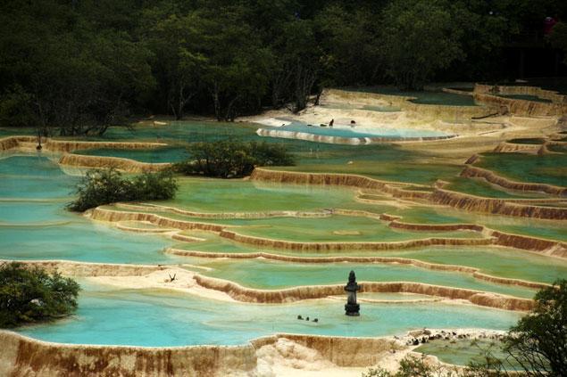 Parque nacional de Huanglong