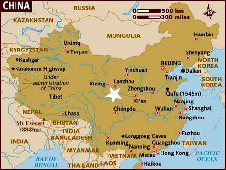 Localización Songpan