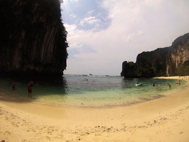 Una playa de ensueño en Hong Island
