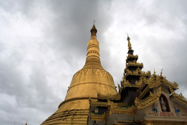 La estupa mas alta del país