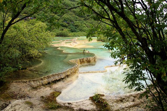 Parque nacional de Huanglong (China)