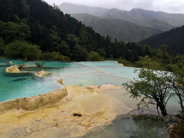 Vistas de Huanglong
