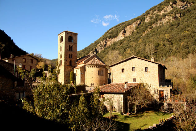 Imagen de la iglesia de Beget