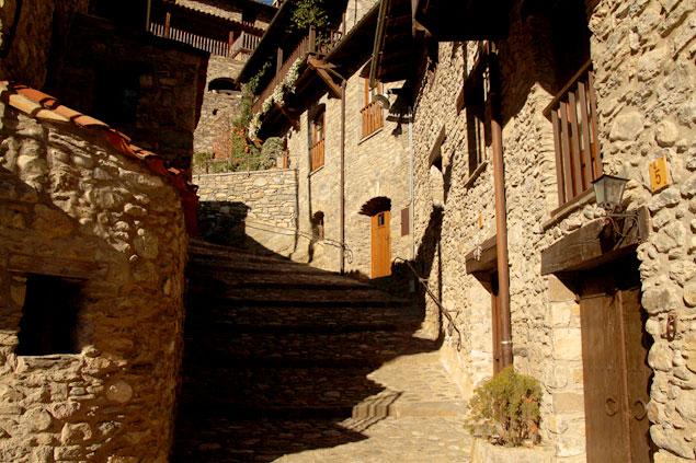 Calles medievales de Beget