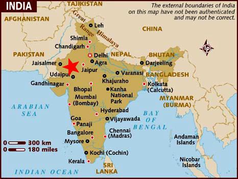 Ubicación Pushkar