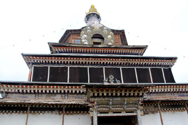 Uno de los templos principales