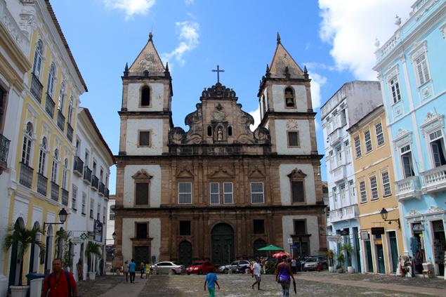 Centro histórico de Salvador de Bahía