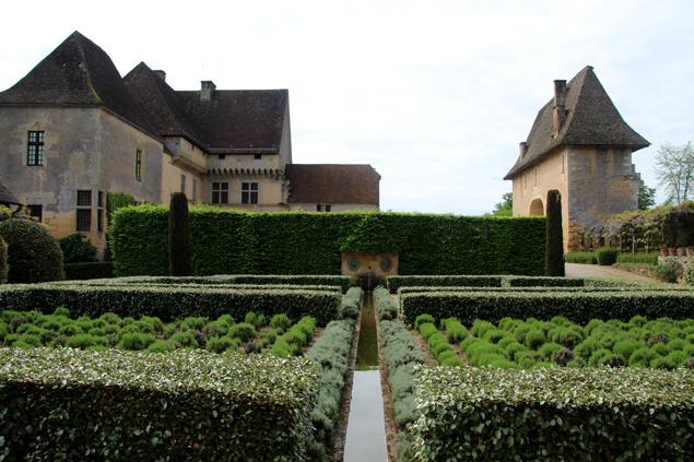 Jardines del Chateau de Losse