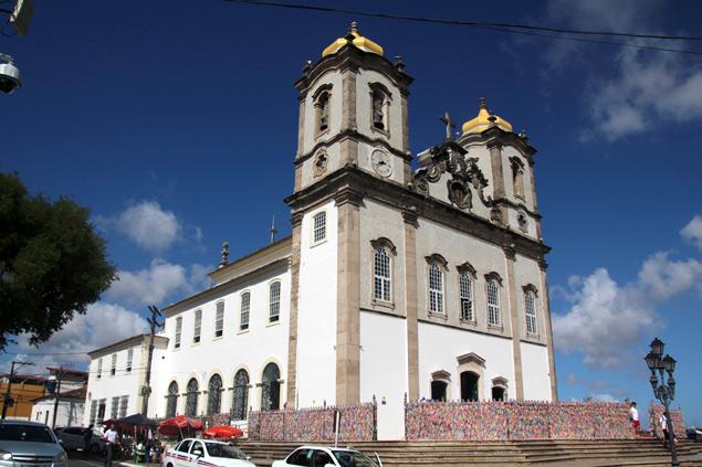 Iglesia del Bonfim en Salvador de Bahía