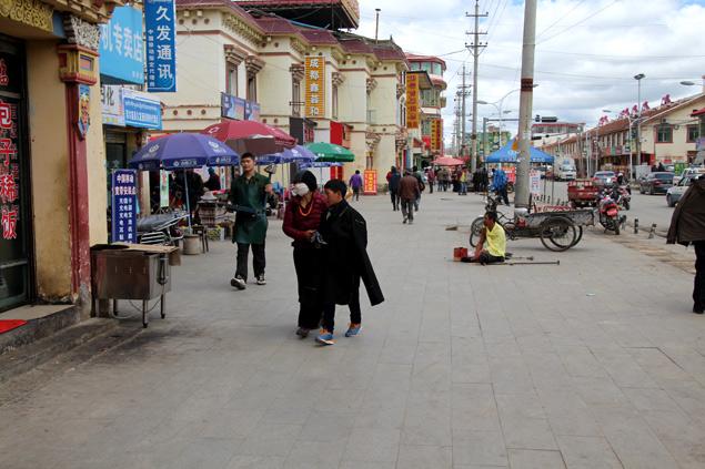 Zoige , una población con aires del Tíbet